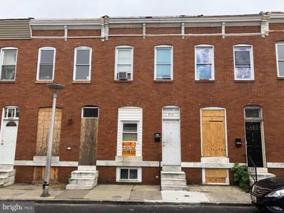 812 N Streeper Street, Baltimore, MD 21205 - #: MDBA469648