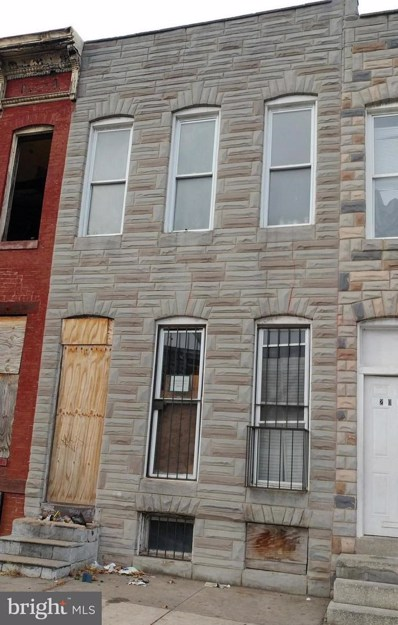 2034 Wilkens Avenue, Baltimore, MD 21223 - #: MDBA469690