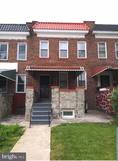 4155 Fairview Avenue, Baltimore, MD 21215 - #: MDBA469734