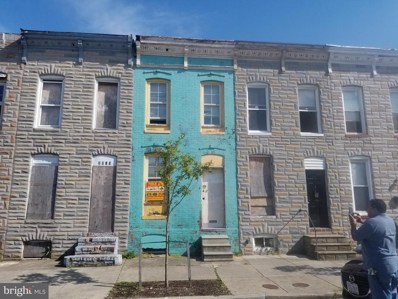 2017 Ashton Street, Baltimore, MD 21223 - #: MDBA469794