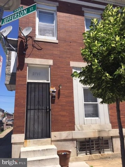 2710 Jefferson Street, Baltimore, MD 21205 - #: MDBA469850