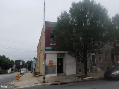 2148 W Fayette Street, Baltimore, MD 21223 - #: MDBA469990