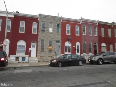 1834 W Franklin Street, Baltimore, MD 21223 - #: MDBA470016