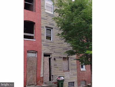 21 S Carey Street, Baltimore, MD 21223 - #: MDBA470060