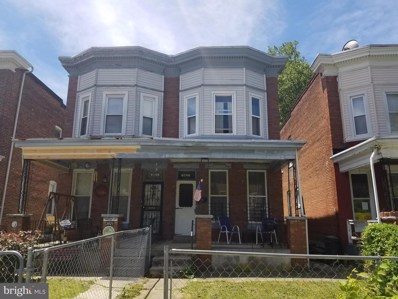 3823 Clifton Avenue, Baltimore, MD 21216 - #: MDBA470122