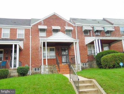 814 N Augusta Avenue, Baltimore, MD 21229 - #: MDBA470232