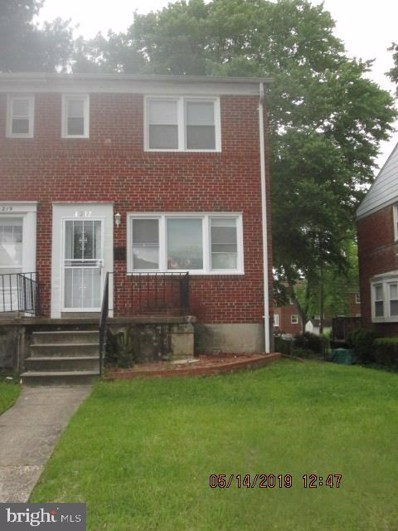 6217 Plymouth Road, Baltimore, MD 21214 - #: MDBA470264