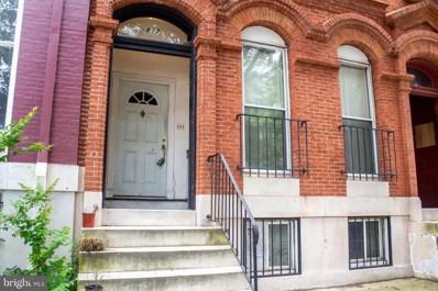 1837 Bolton Street, Baltimore, MD 21217 - #: MDBA470306