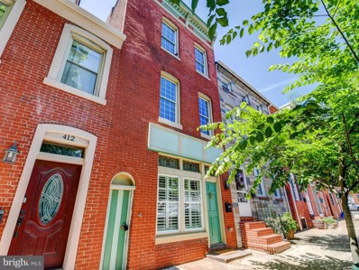410 S Ann Street, Baltimore, MD 21231 - #: MDBA470314