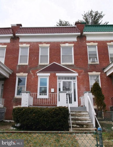 416 Mount Holly Street, Baltimore, MD 21229 - #: MDBA470434