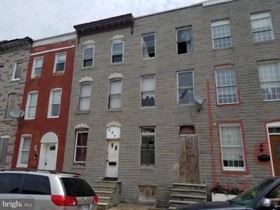 307 S Stricker Street, Baltimore, MD 21223 - #: MDBA470666