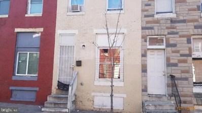 2007 Hollins Street, Baltimore, MD 21223 - #: MDBA470736