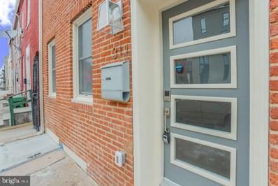 311 S Central Avenue, Baltimore, MD 21202 - #: MDBA470848