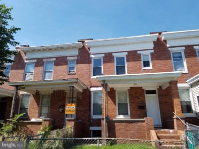 1718 E 31ST Street, Baltimore, MD 21218 - #: MDBA470938