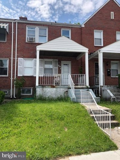 3319 Belle Avenue, Baltimore, MD 21215 - #: MDBA471086