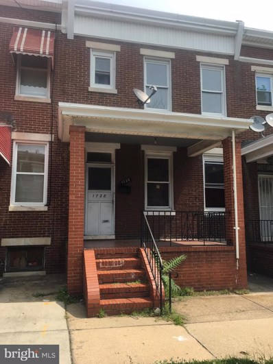 1728 E 25TH Street, Baltimore, MD 21213 - #: MDBA471102