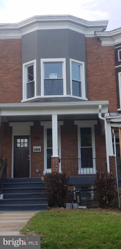 2808 Clifton Avenue, Baltimore, MD 21216 - #: MDBA471176