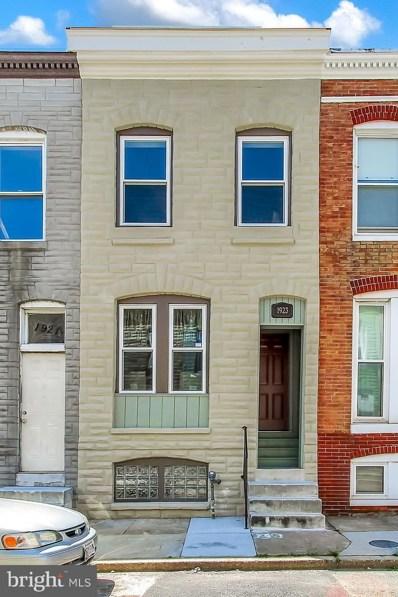 1923 W Fairmount Avenue, Baltimore, MD 21223 - #: MDBA471180