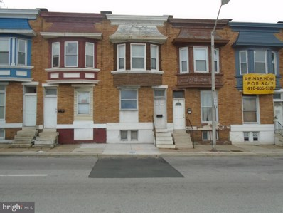 2117 W Mulberry Street, Baltimore, MD 21223 - #: MDBA471242