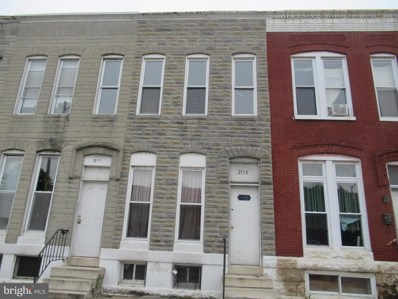 2113 Wilkens Avenue, Baltimore, MD 21223 - #: MDBA471244