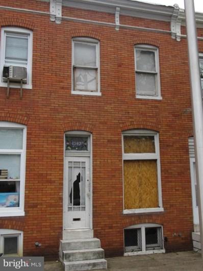 1347 Herkimer Street, Baltimore, MD 21223 - #: MDBA471252