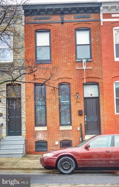 226 N Patterson Park Avenue, Baltimore, MD 21231 - #: MDBA471266