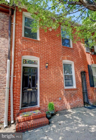 424 S Wolfe Street, Baltimore, MD 21231 - #: MDBA471378