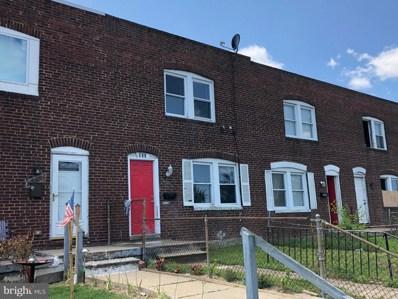 825 Stoll Street, Baltimore, MD 21225 - MLS#: MDBA471404