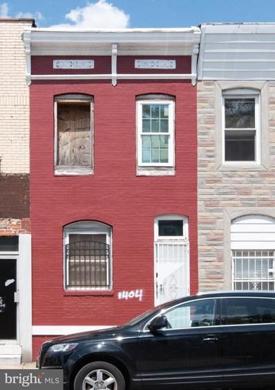 1404 Darley Avenue, Baltimore, MD 21213 - #: MDBA471434