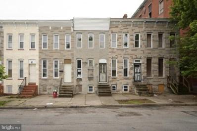 212 S Calhoun Street, Baltimore, MD 21223 - #: MDBA471436