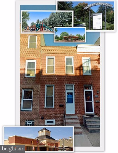 1511 William Street, Baltimore, MD 21230 - MLS#: MDBA471778