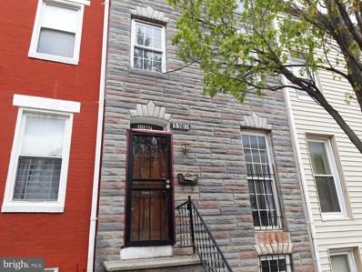 1107 W Lombard Street, Baltimore, MD 21223 - #: MDBA472084