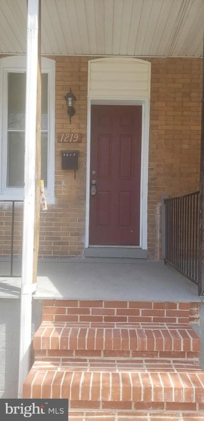 1219 S Carey Street, Baltimore, MD 21230 - #: MDBA472170