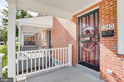 1240 Sherwood Avenue, Baltimore, MD 21239 - #: MDBA472216