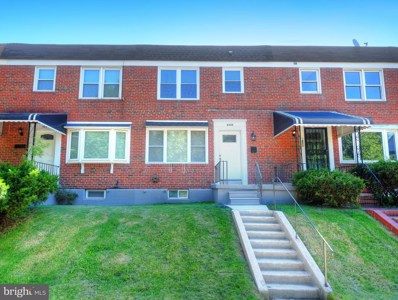 5455 Moores Run Drive, Baltimore, MD 21206 - #: MDBA472440