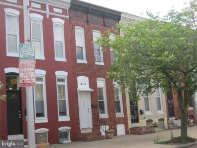 413 N Collington Avenue, Baltimore, MD 21231 - #: MDBA472708