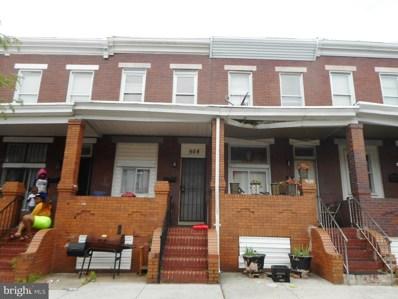 508 N Robinson Street, Baltimore, MD 21205 - #: MDBA472710