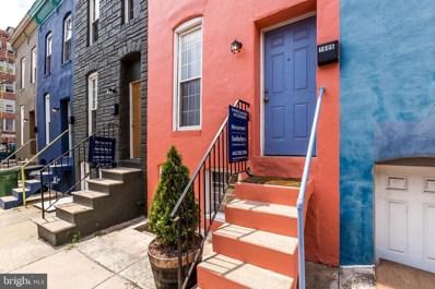 1606 Latrobe Street, Baltimore, MD 21202 - #: MDBA472914