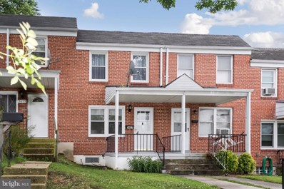 3657 Clarenell Road, Baltimore, MD 21229 - #: MDBA473016
