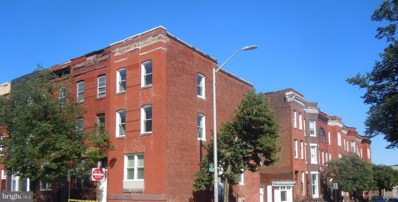 1827 McCulloh Street, Baltimore, MD 21217 - #: MDBA473054