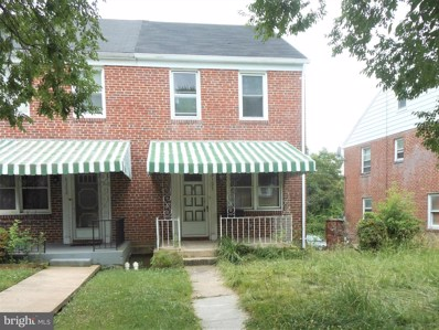 3121 Moravia Road, Baltimore, MD 21214 - #: MDBA473116