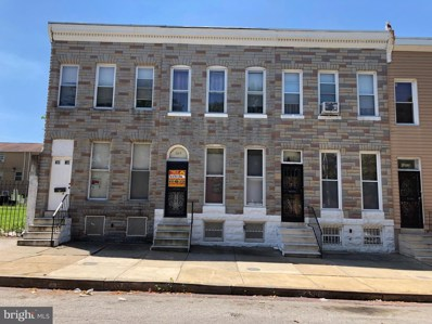 1217 E Oliver Street, Baltimore, MD 21202 - #: MDBA473192