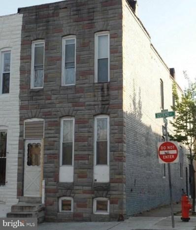 1421 W Ostend Street, Baltimore, MD 21223 - #: MDBA473254