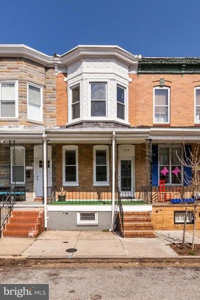1218 Cleveland Street, Baltimore, MD 21230 - #: MDBA473340