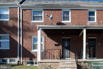 704 Chestnut Hill Avenue, Baltimore, MD 21218 - #: MDBA473474