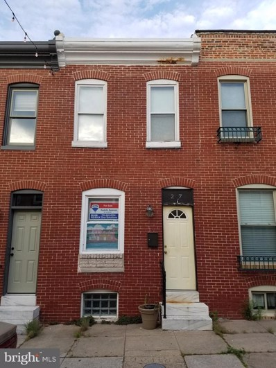 27 N Curley Street, Baltimore, MD 21224 - #: MDBA473478