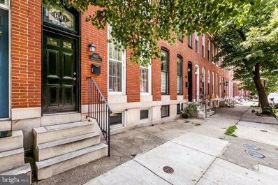 1603 S Charles Street, Baltimore, MD 21230 - #: MDBA473658
