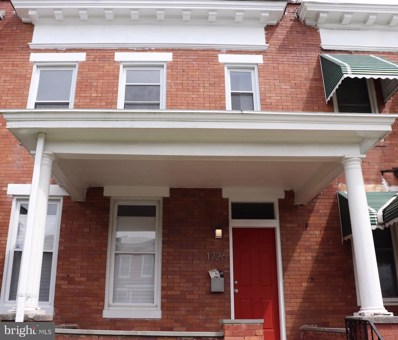 1726 E 31ST Street, Baltimore, MD 21218 - #: MDBA473814