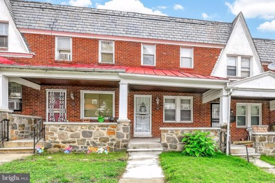 3708 Woodridge Road, Baltimore, MD 21229 - #: MDBA474080