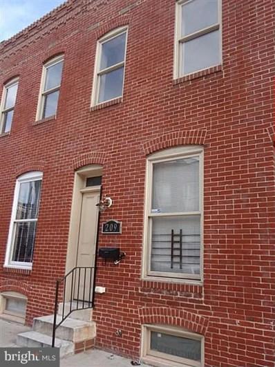 209 N Belnord Avenue, Baltimore, MD 21224 - #: MDBA474126